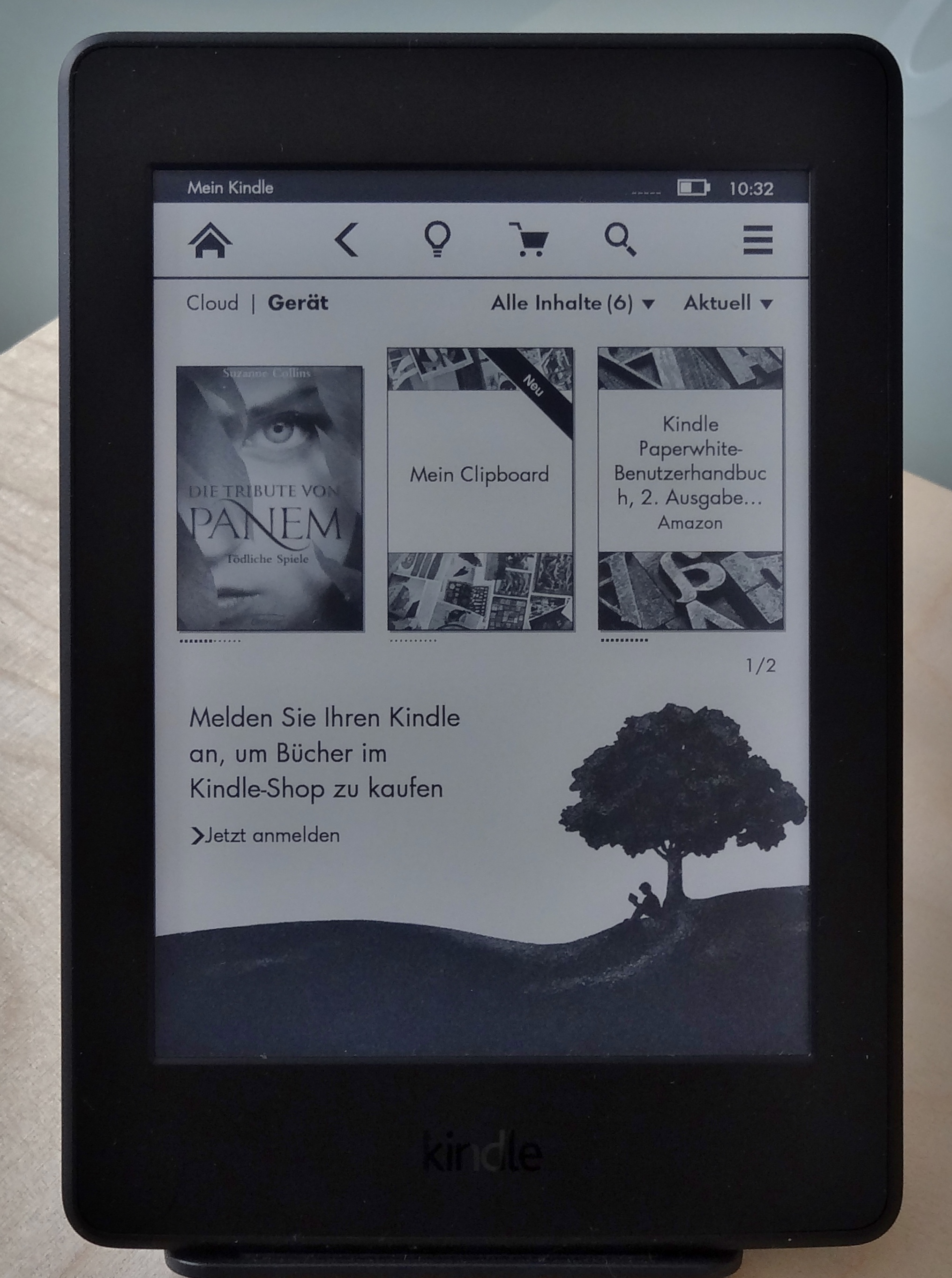 Amazon Kindle Paperwhite im Test
