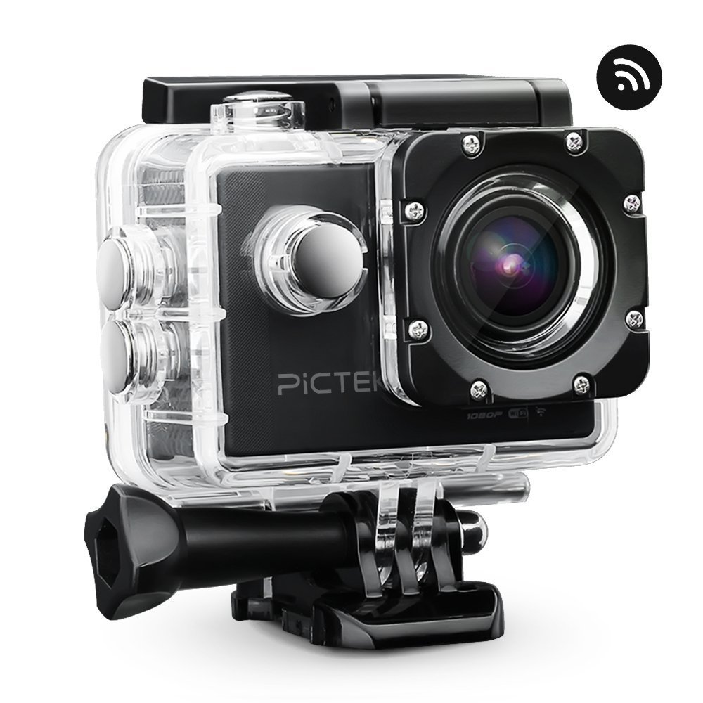 Pictek 1080p Full-HD Actioncam im Test