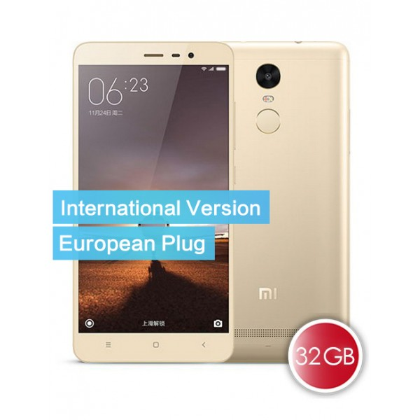 Xiaomi Redmi Note 3 Pro 32 GB International Version für 205,43€