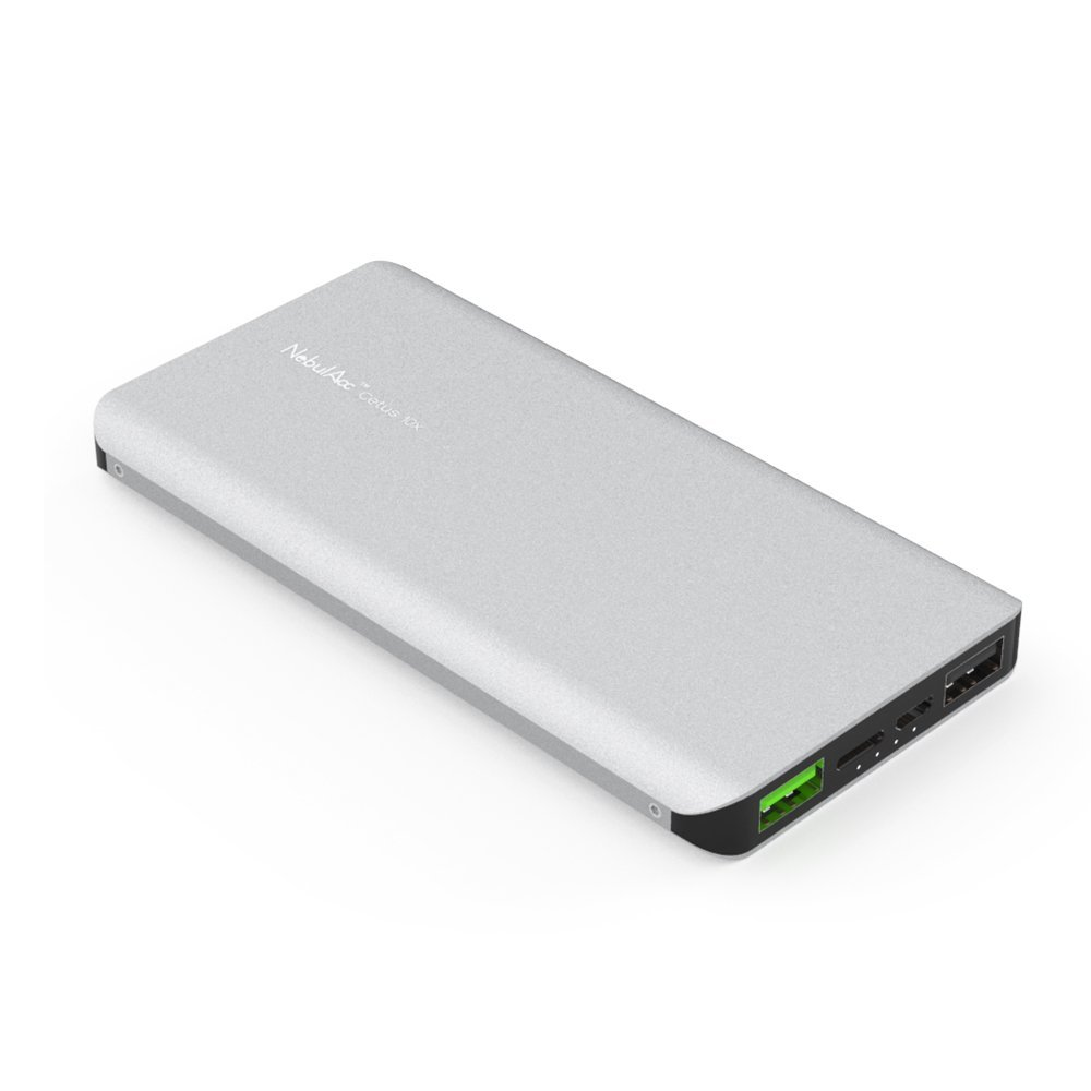 NebulAcc 10.000mAh Quick Charge 3.0 Powerbank im Kurztest