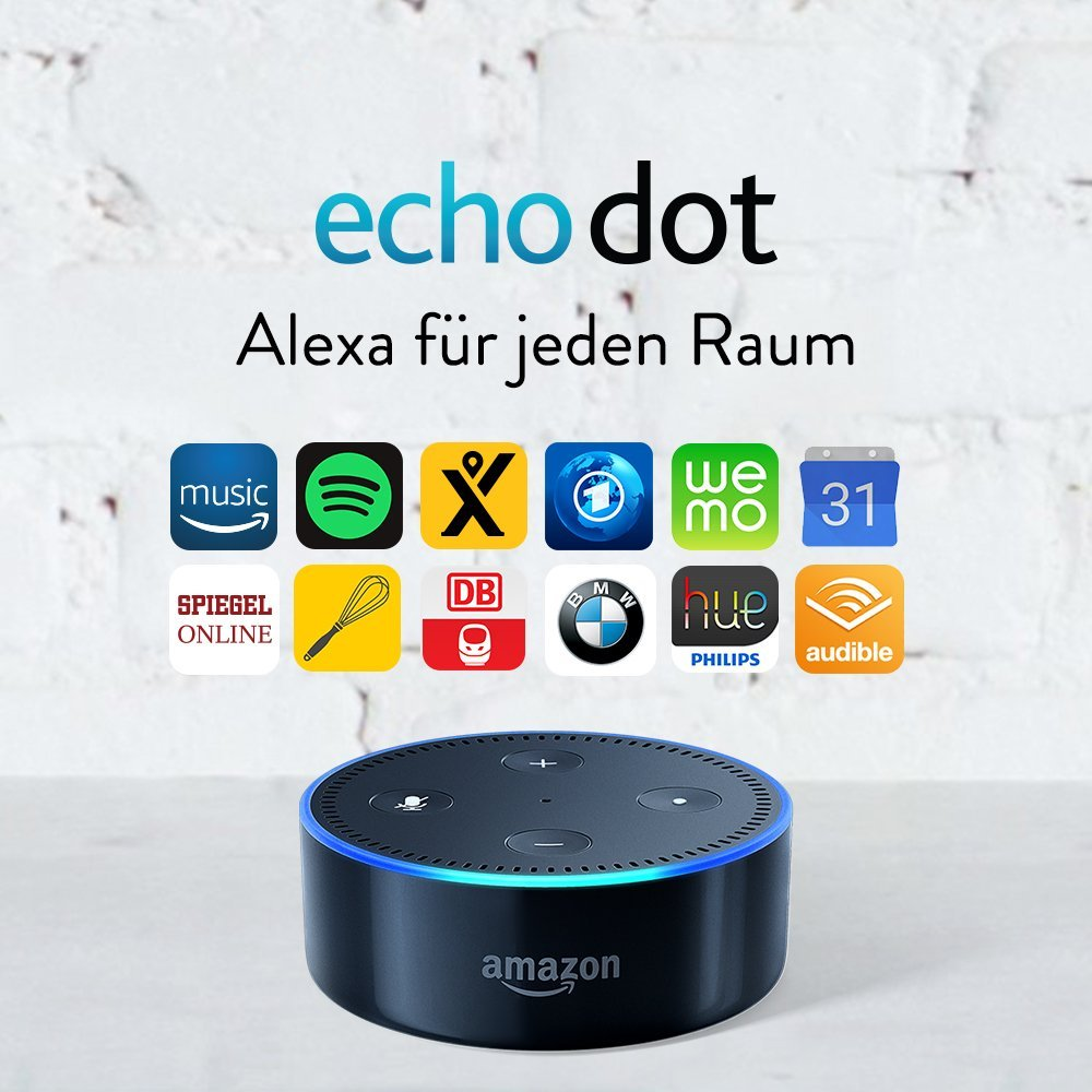 Amazon Echo Dot für 39,99€ am Cyber Monday